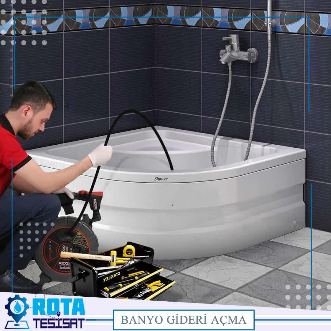 Banyo Gideri Açma